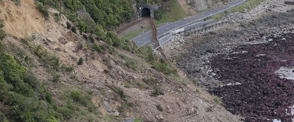 new zealand earthquake road